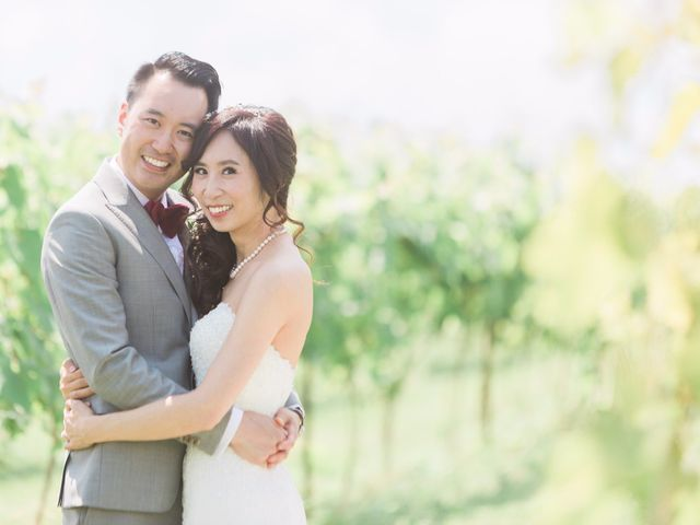 The wedding of Louisa and Jeffrey
