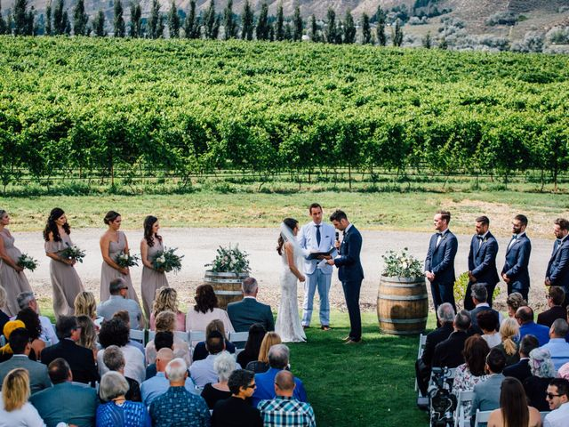 Kiefer and Nicole's wedding in Kamloops, British Columbia 5