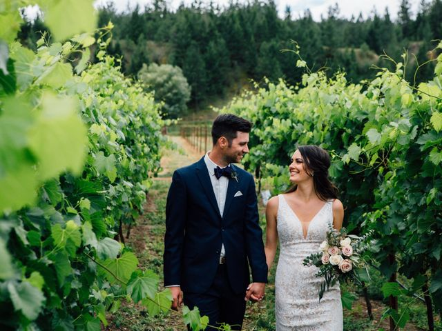 The wedding of Nicole and Kiefer