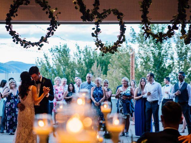 Kiefer and Nicole's wedding in Kamloops, British Columbia 13