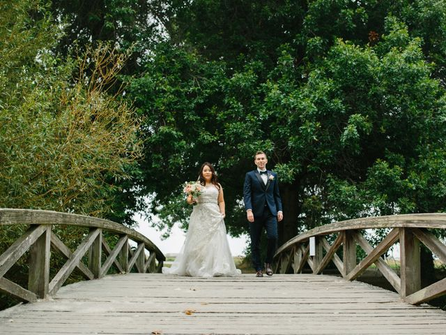 Mathew and Claire's wedding in Vancouver, British Columbia 4