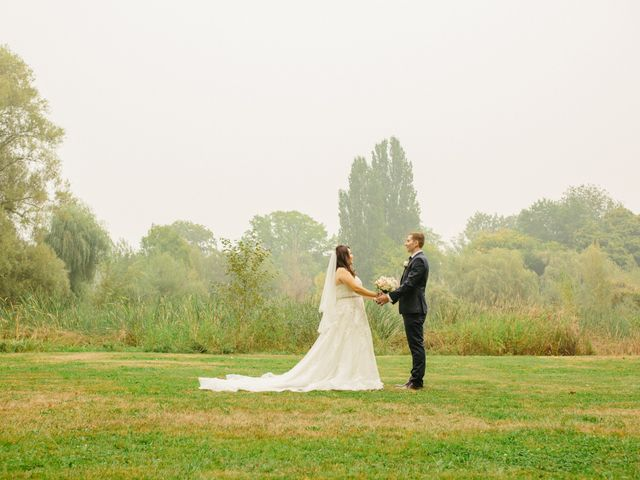 Mathew and Claire's wedding in Vancouver, British Columbia 9