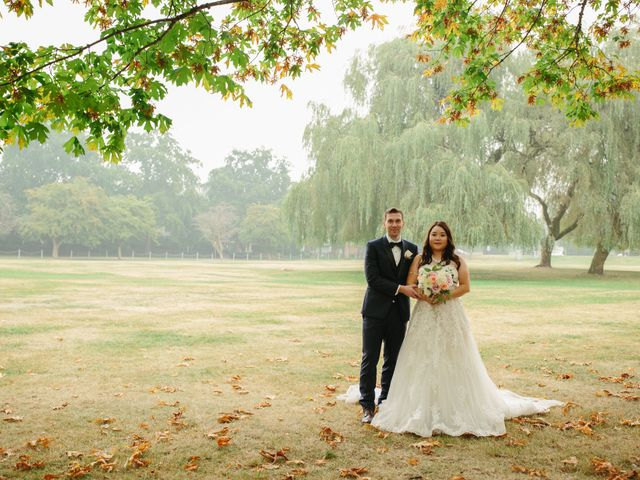 Mathew and Claire's wedding in Vancouver, British Columbia 2