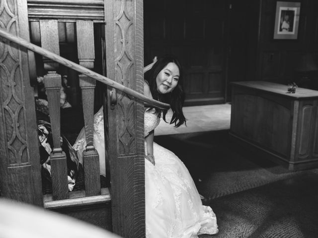 Mathew and Claire's wedding in Vancouver, British Columbia 32