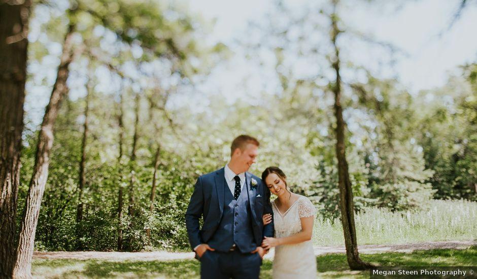 Jason and Chelsea's wedding in Winnipeg, Manitoba