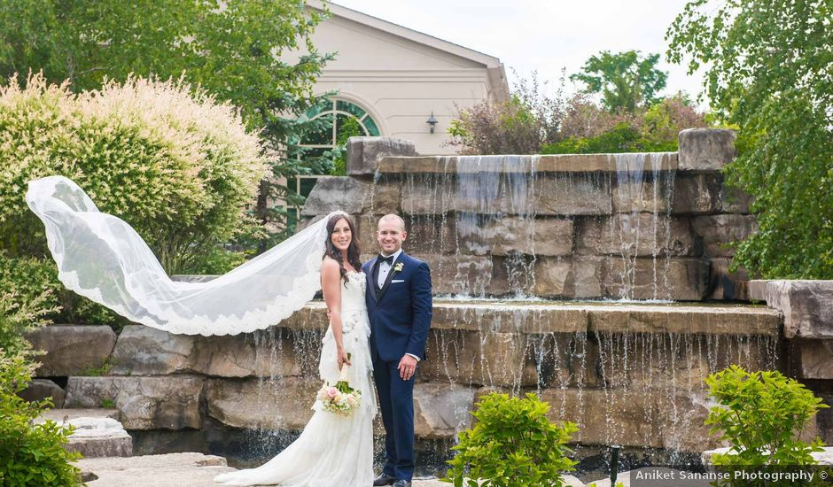Serena and Josh's wedding in Caledon, Ontario