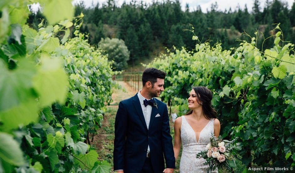 Kiefer and Nicole's wedding in Kamloops, British Columbia