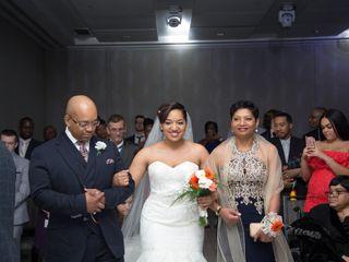 The wedding of Olivia  and Jabari  2