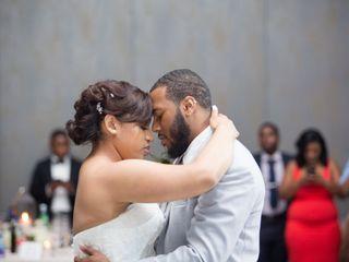 The wedding of Olivia  and Jabari