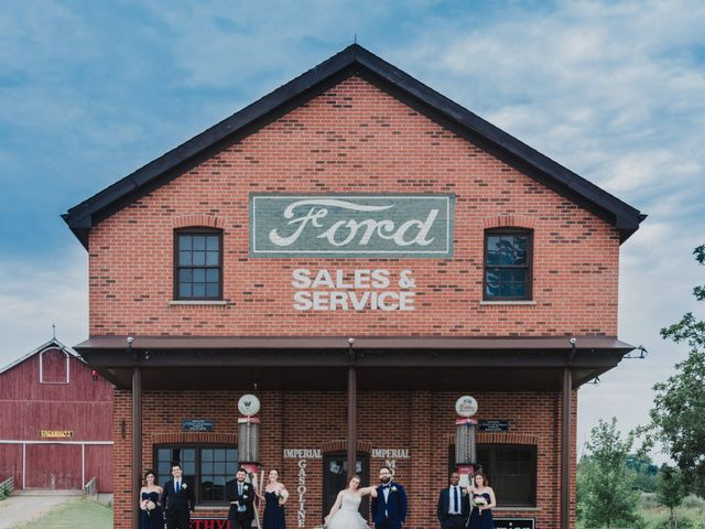 Stacey and Kevin's wedding in Milton, Ontario 1