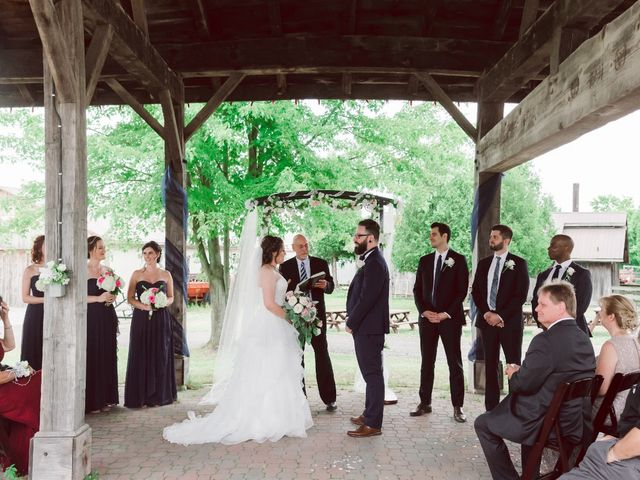 Stacey and Kevin's wedding in Milton, Ontario 13