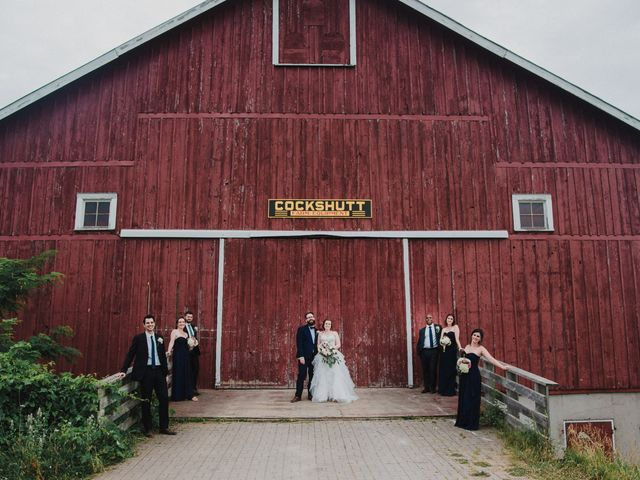 Stacey and Kevin's wedding in Milton, Ontario 22