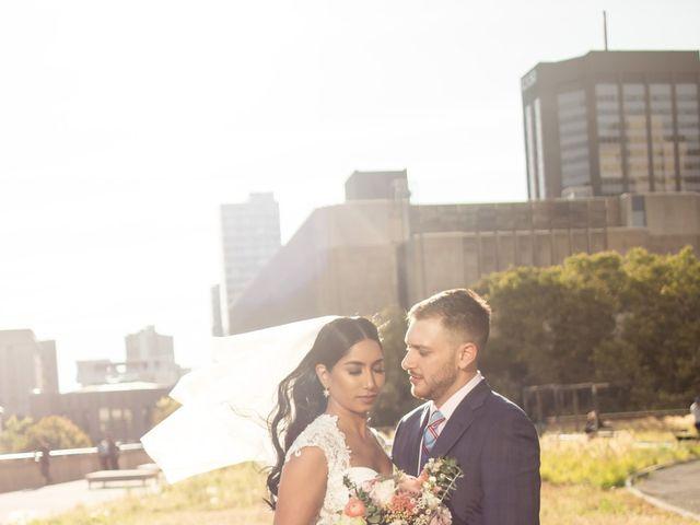The wedding of Melissa and Marlon