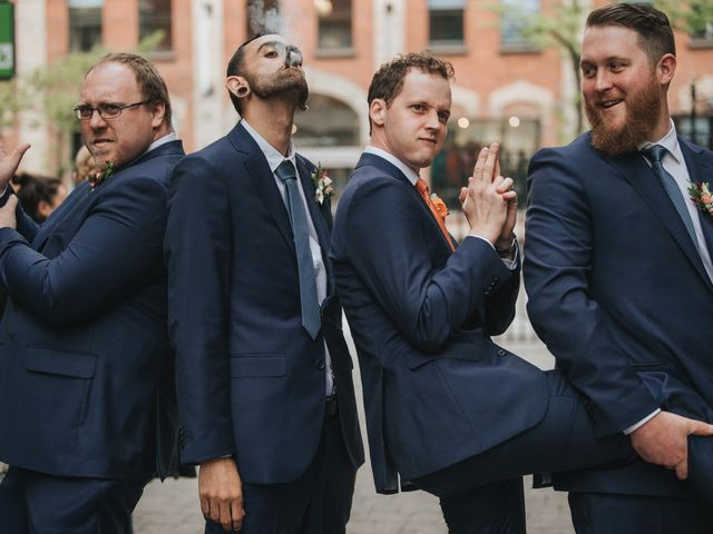 Bryan and Angie's wedding in Toronto, Ontario 2