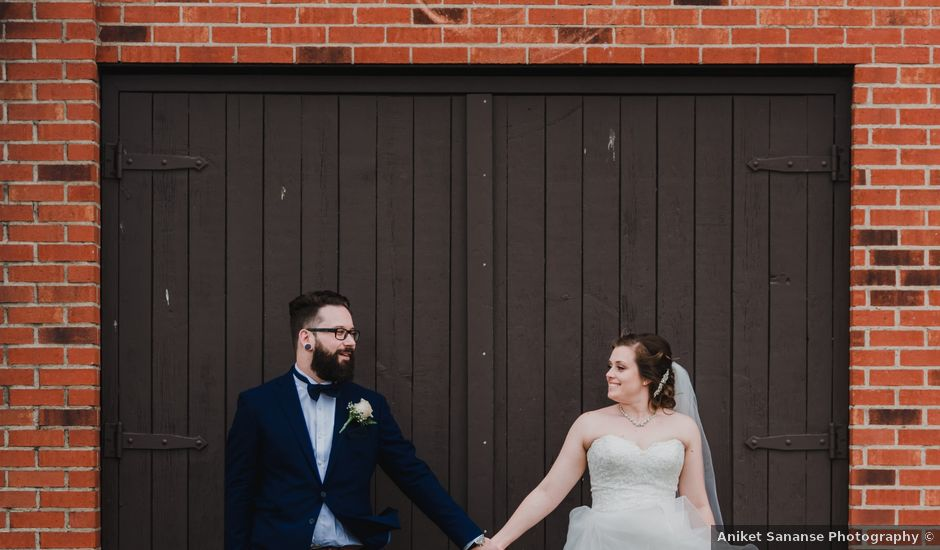 Stacey and Kevin's wedding in Milton, Ontario