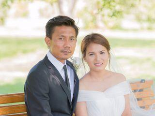 The wedding of Vivi and Lin 1
