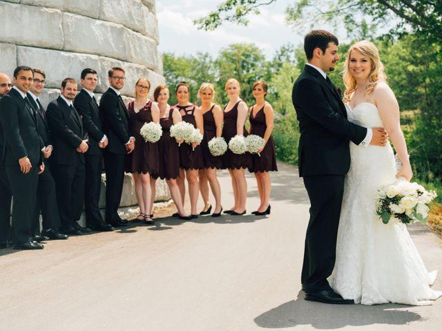 Ryan and Amanda's wedding in Barrie, Ontario 10