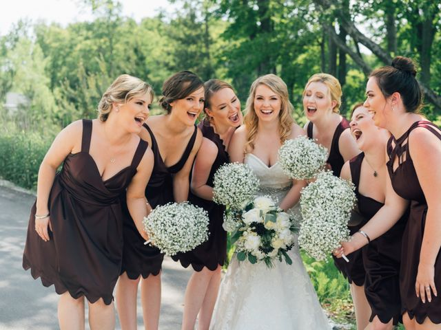 Ryan and Amanda's wedding in Barrie, Ontario 11