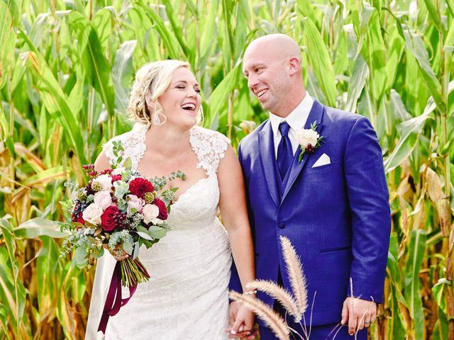 The wedding of Missy and Matt