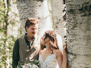 The wedding of Amy and Keegan