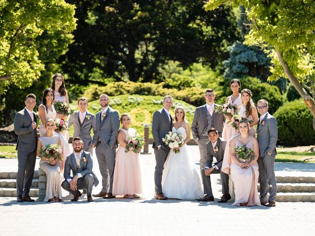 The wedding of Brittany and Mike