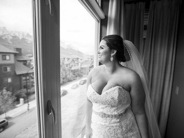 Robbie and Chelsea's wedding in Canmore, Alberta 14