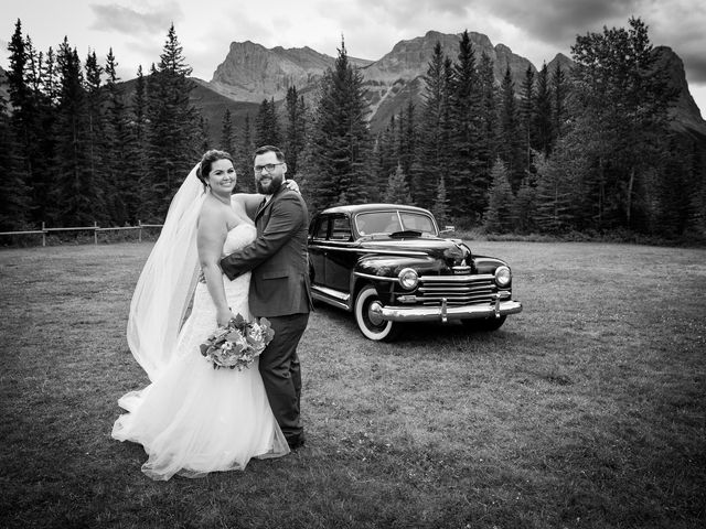 Robbie and Chelsea's wedding in Canmore, Alberta 17