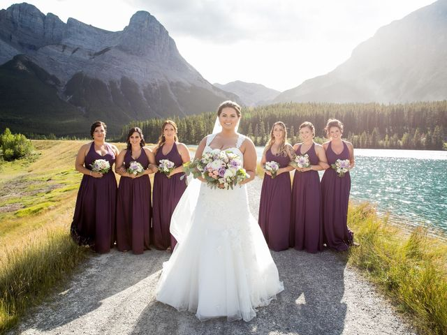 Robbie and Chelsea's wedding in Canmore, Alberta 22