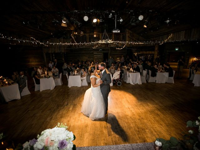 Robbie and Chelsea's wedding in Canmore, Alberta 25