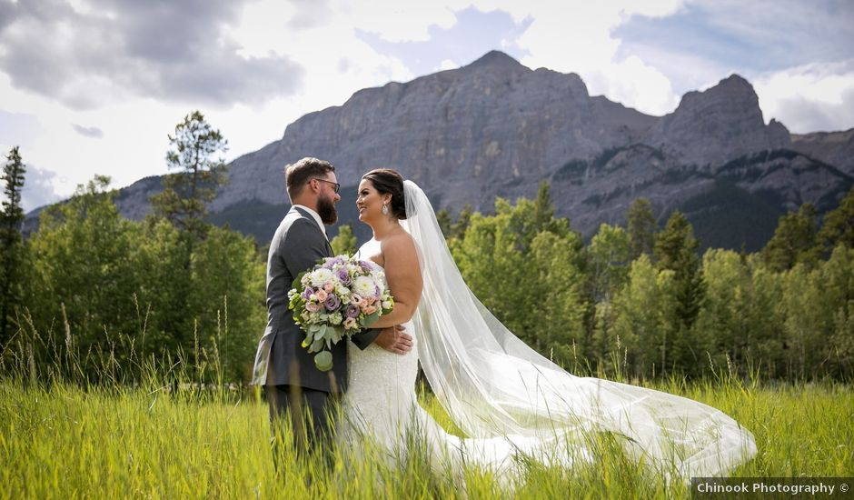 Robbie and Chelsea's wedding in Canmore, Alberta
