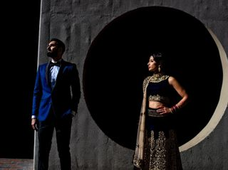 The wedding of Varinder and Navi 1