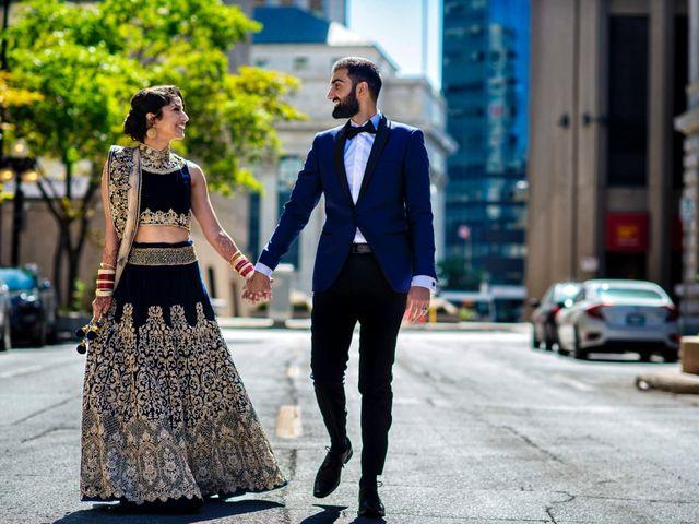 The wedding of Varinder and Navi