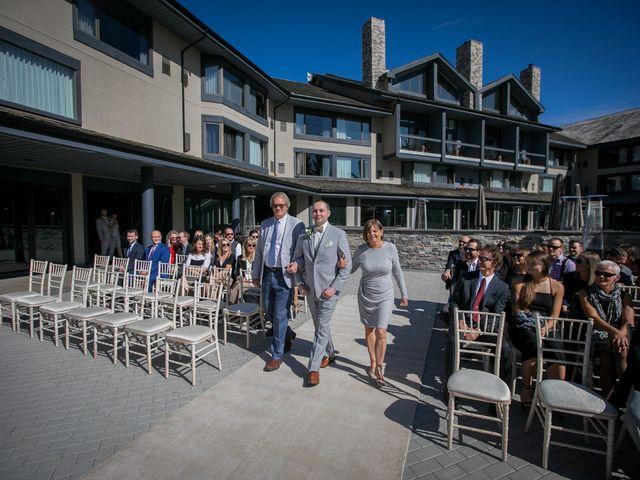 Mike and Brooke's wedding in Kananaskis, Alberta 3