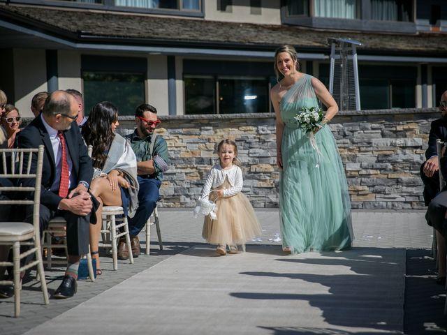 Mike and Brooke's wedding in Kananaskis, Alberta 4