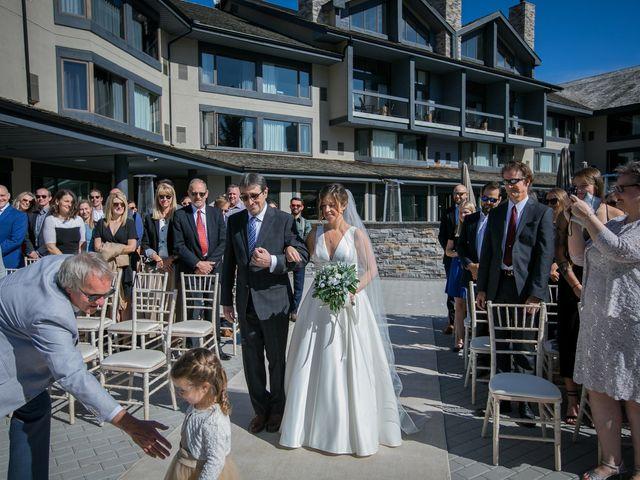Mike and Brooke's wedding in Kananaskis, Alberta 5