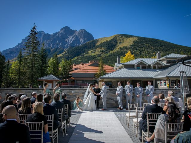 Mike and Brooke's wedding in Kananaskis, Alberta 1