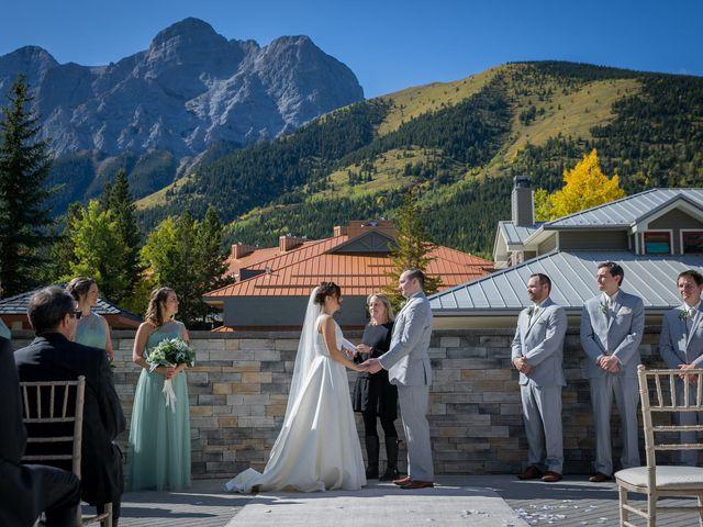 Mike and Brooke's wedding in Kananaskis, Alberta 7