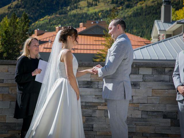 Mike and Brooke's wedding in Kananaskis, Alberta 9