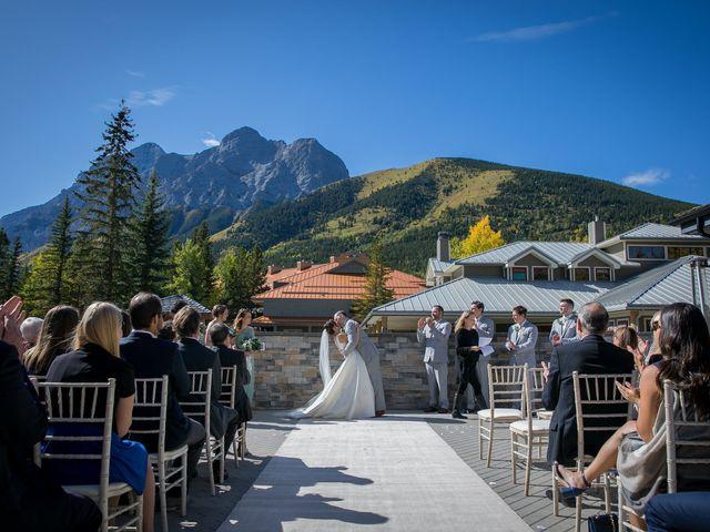 Mike and Brooke's wedding in Kananaskis, Alberta 11