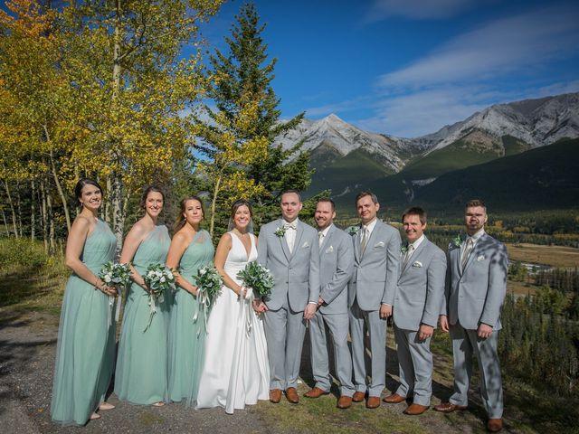 Mike and Brooke's wedding in Kananaskis, Alberta 13