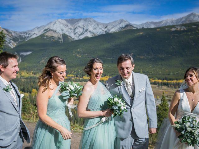 Mike and Brooke's wedding in Kananaskis, Alberta 14