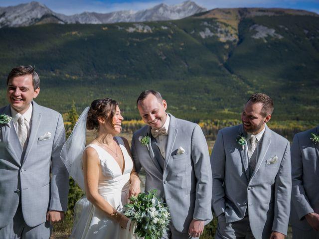 Mike and Brooke's wedding in Kananaskis, Alberta 15