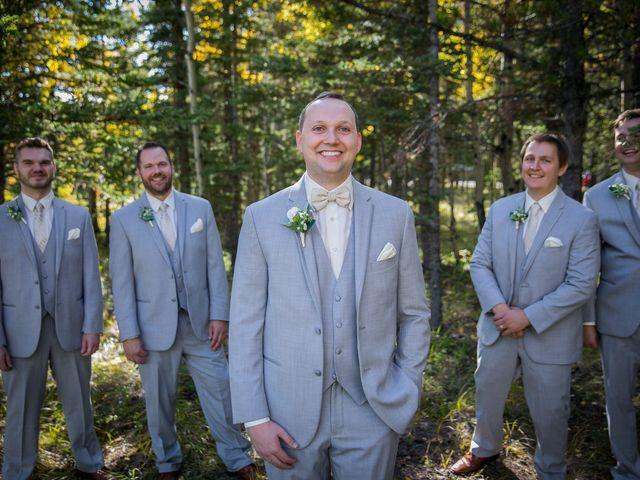 Mike and Brooke's wedding in Kananaskis, Alberta 16