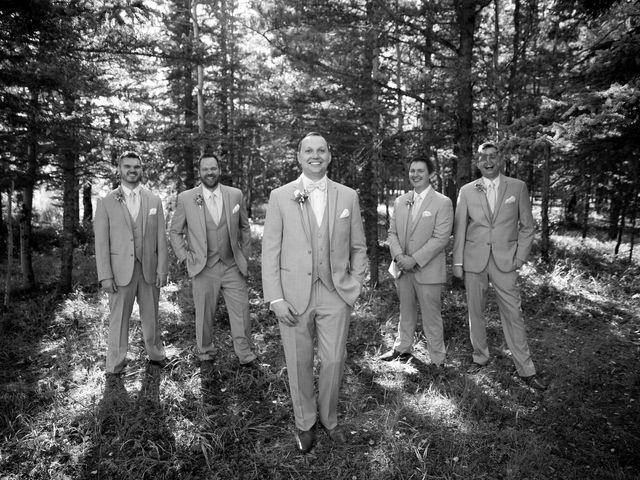 Mike and Brooke's wedding in Kananaskis, Alberta 17