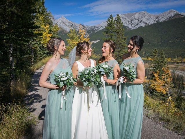 Mike and Brooke's wedding in Kananaskis, Alberta 18