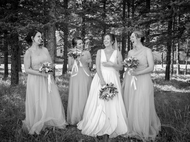 Mike and Brooke's wedding in Kananaskis, Alberta 19