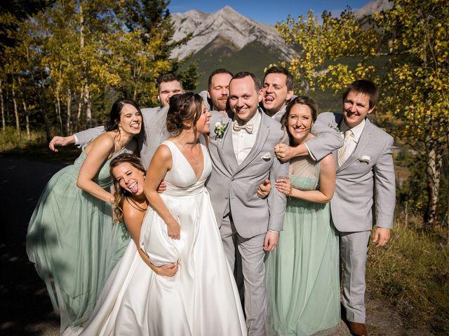 Mike and Brooke's wedding in Kananaskis, Alberta 20