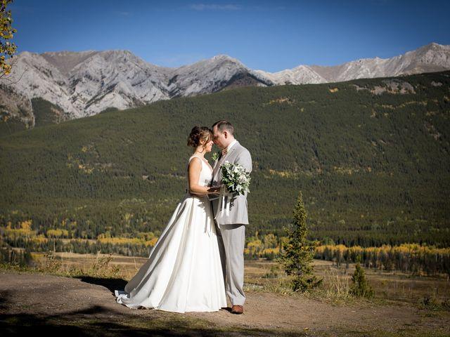 Mike and Brooke's wedding in Kananaskis, Alberta 22