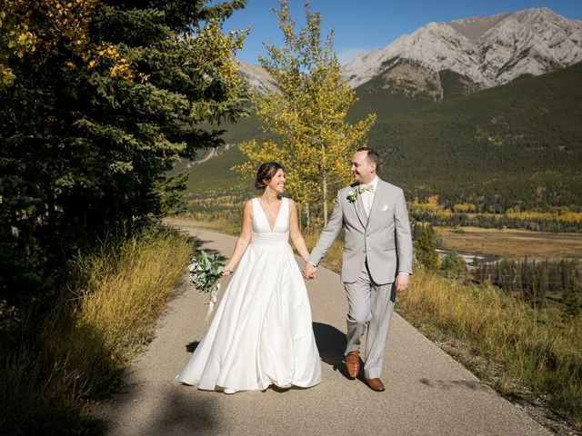 Mike and Brooke's wedding in Kananaskis, Alberta 23