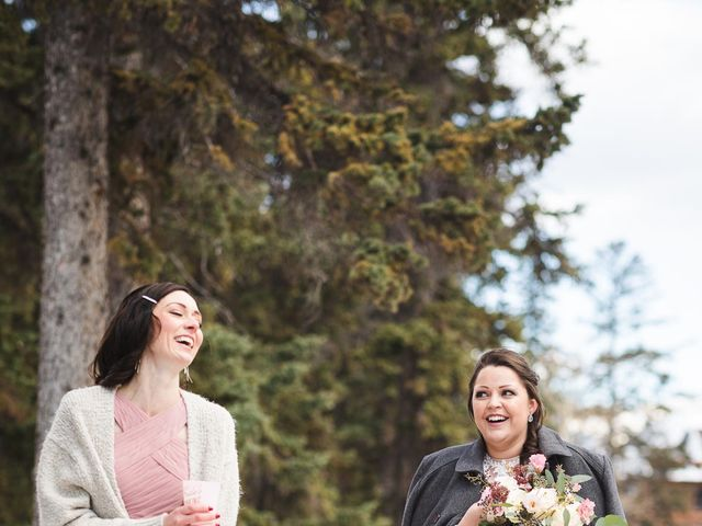 Victor and Kristine's wedding in Canmore, Alberta 3